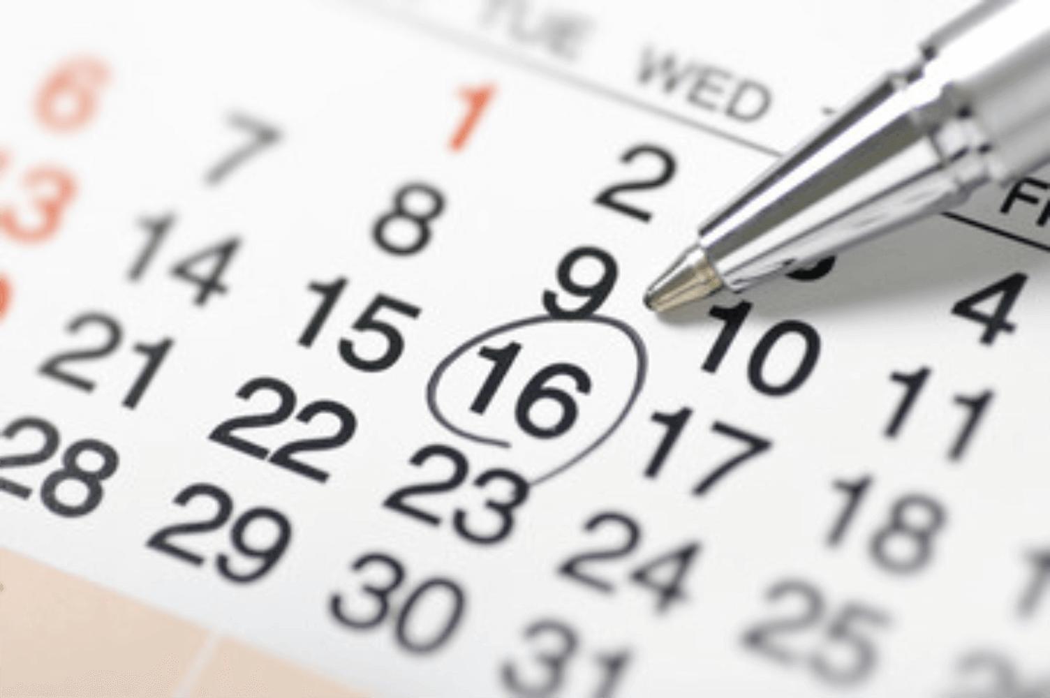 Decide Event Date