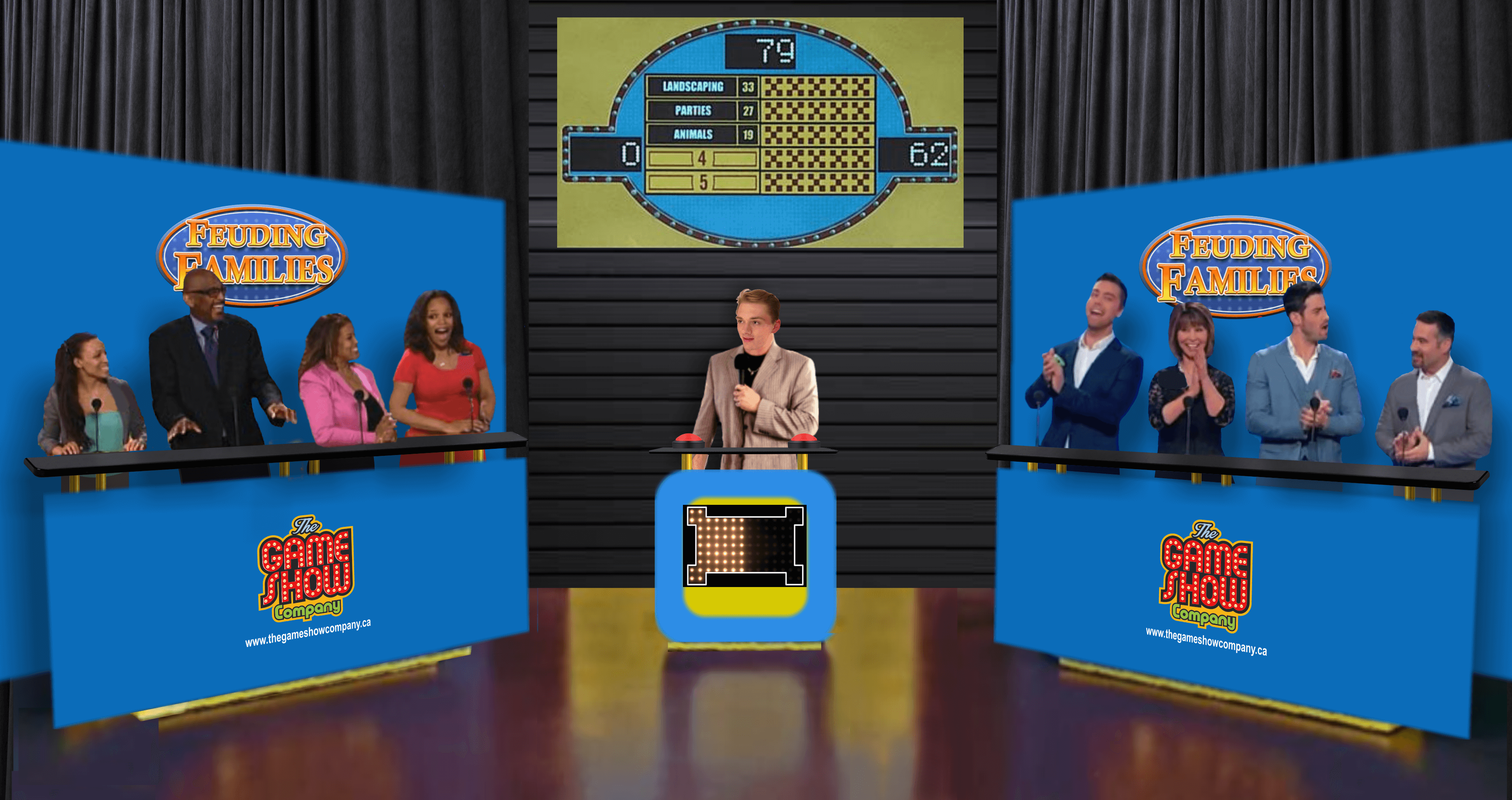 Family Feud Game Show Rental